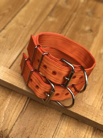 Sunset Orange - Heavy Duty Working Dog Collar